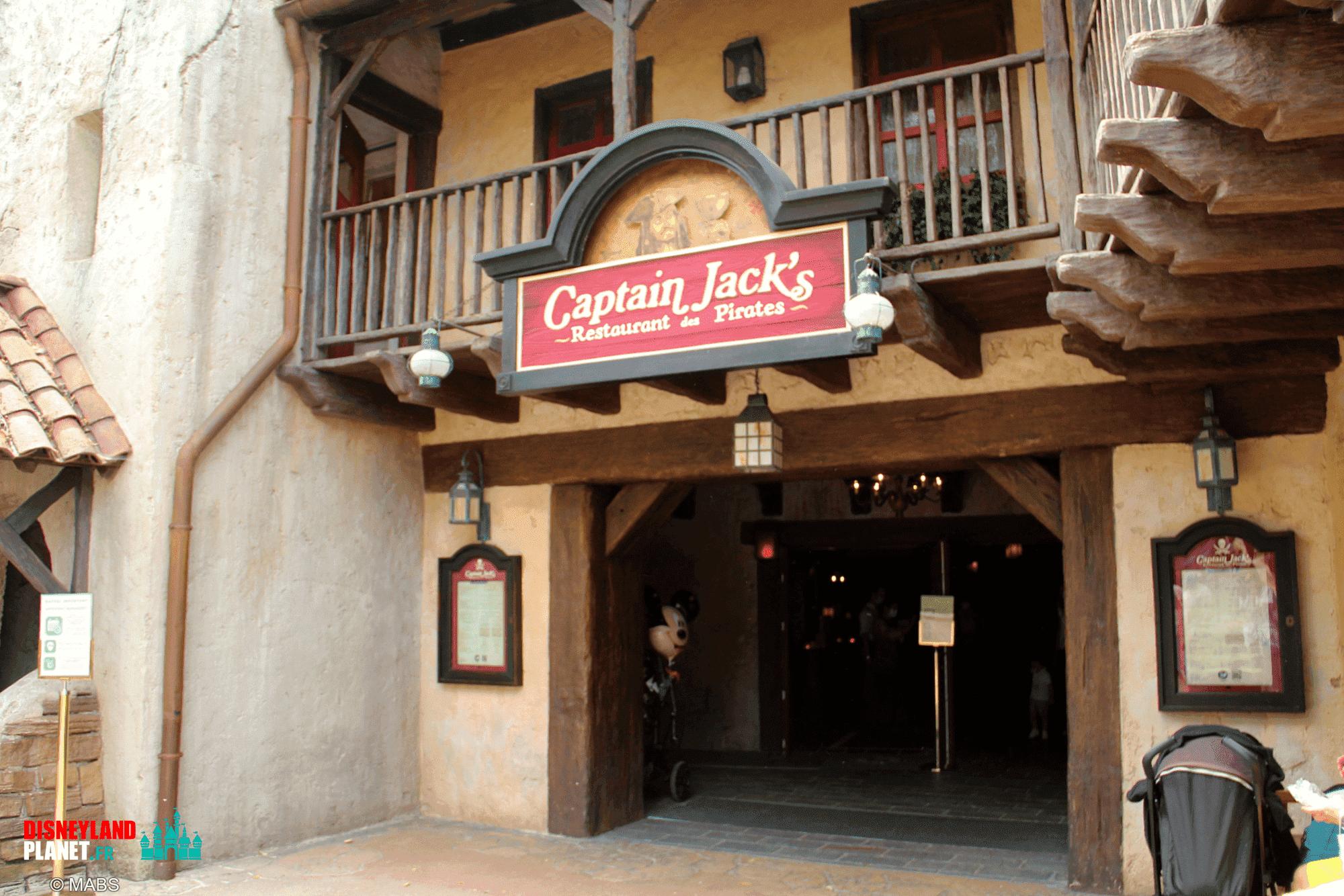 captain jacks restaurant pirates disneyland paris