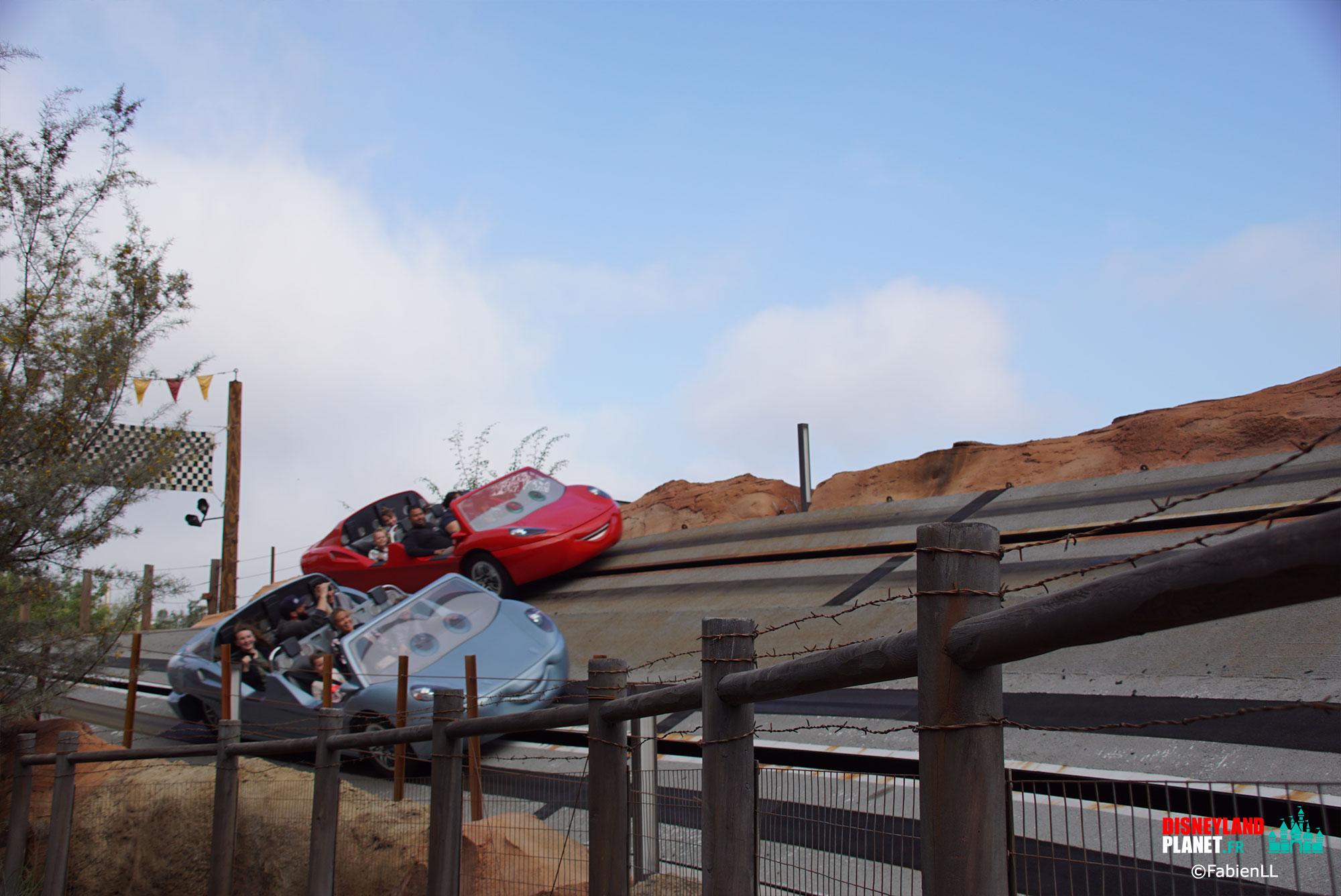 radiator springs racers disneyland californie
