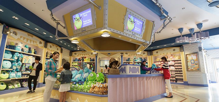 monster inc company store tokyo disneyland