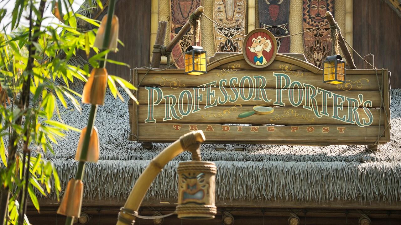 professor porters trading post hong kong disneyland