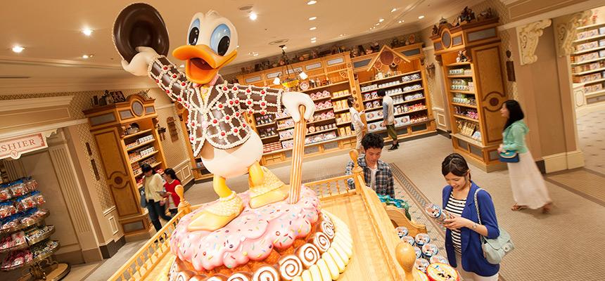 world bazaar confectionery tokyo disneyland