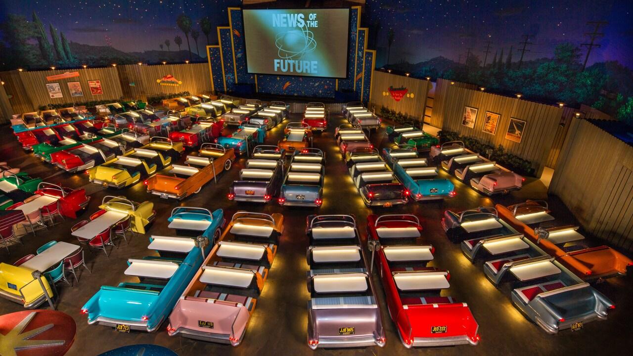 sci fi dine theater disneyland hollywood studios floride