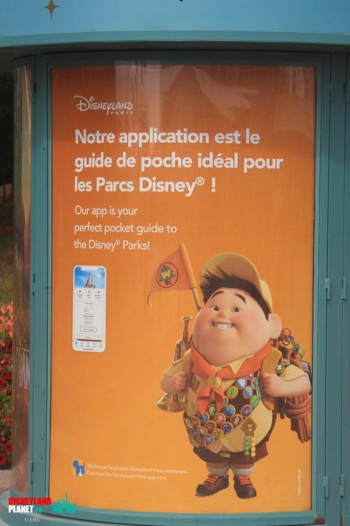 application disneyland paris