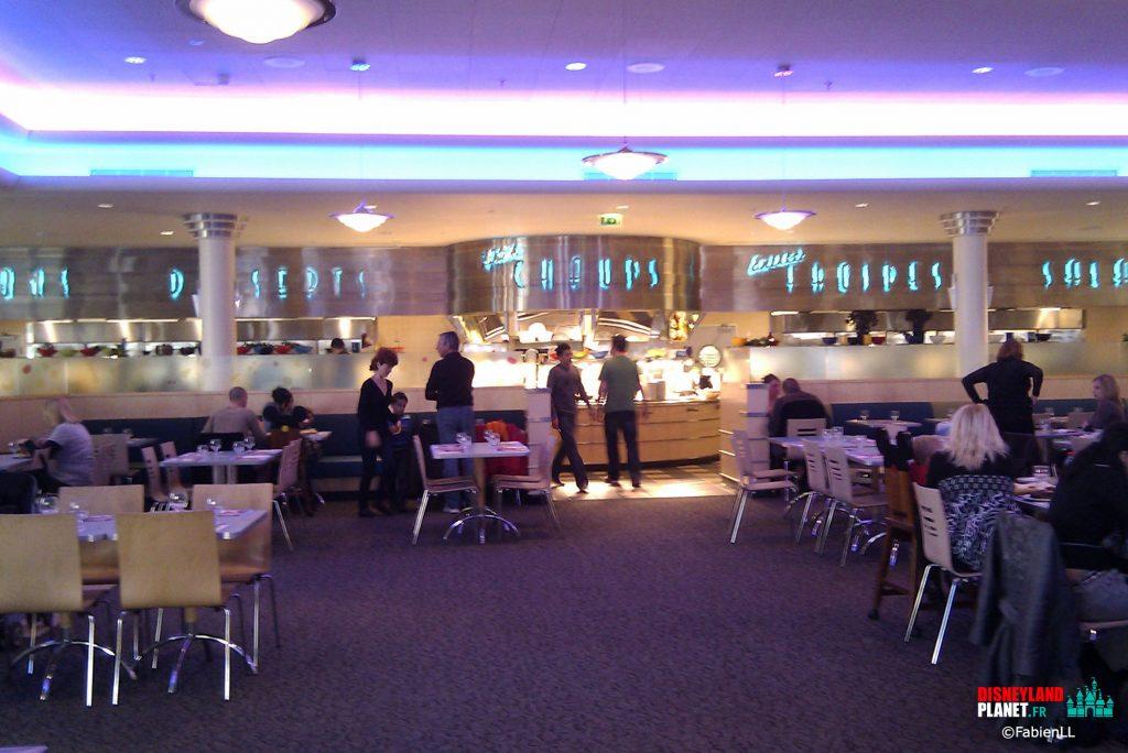 restaurant stars walt disney studios paris