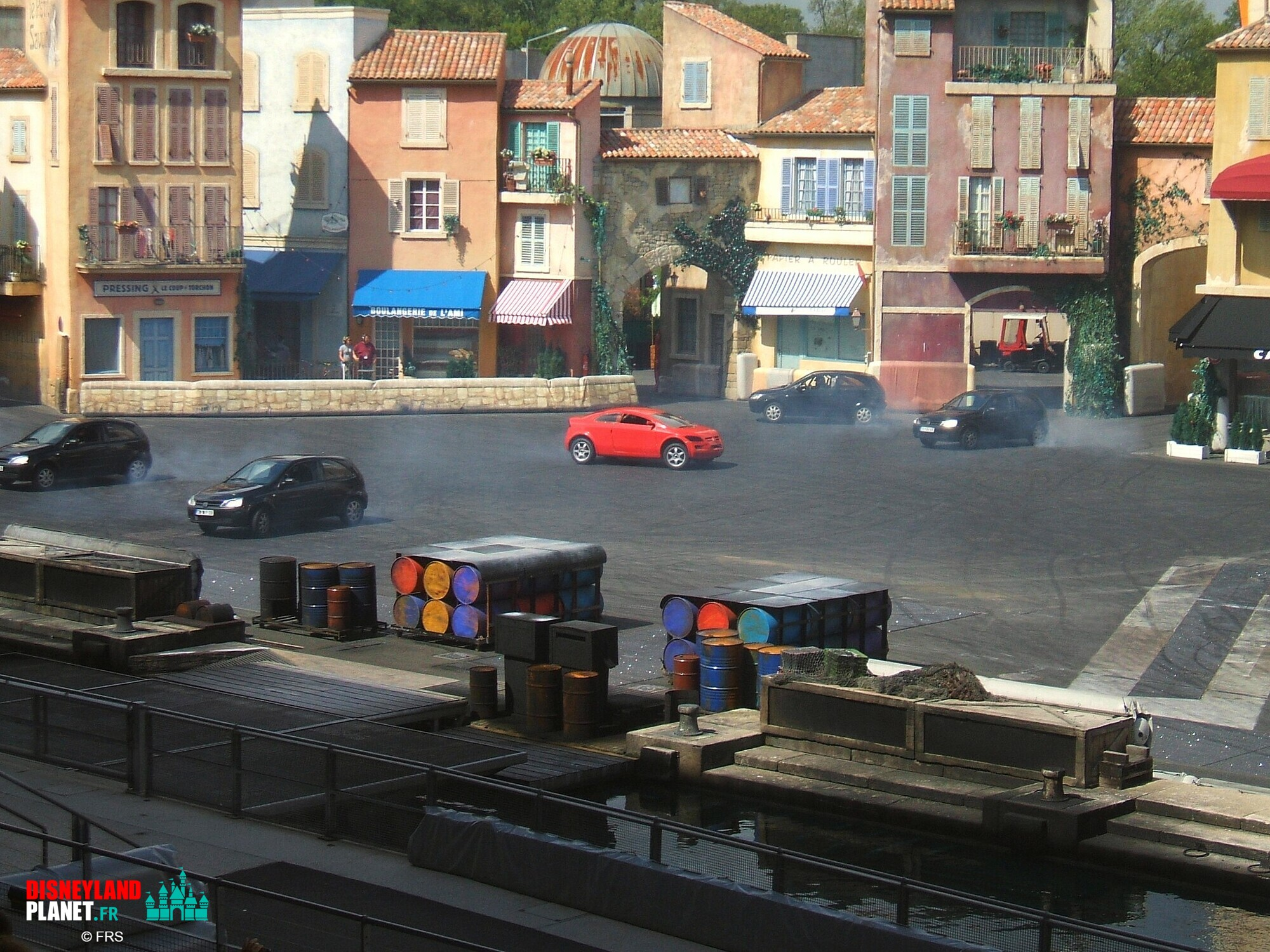 moteurs action stunt show spectacular disneyland paris