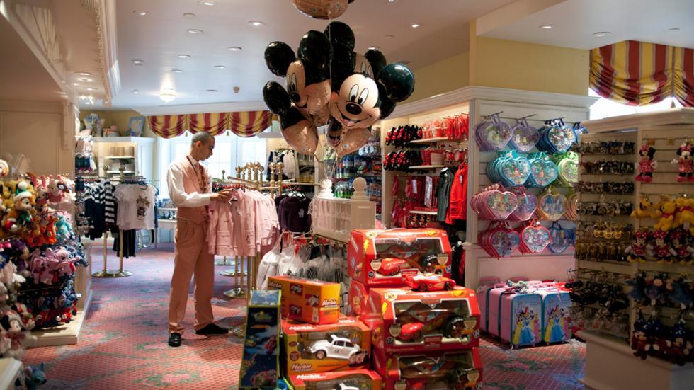 disneyland hotel galerie mickey boutique paris
