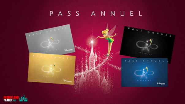 passeports annuels disneyland paris