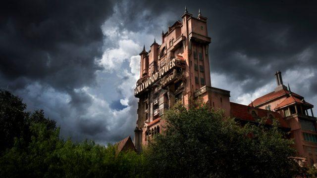 twilight zone tower terror disneyland hollywood studios floride
