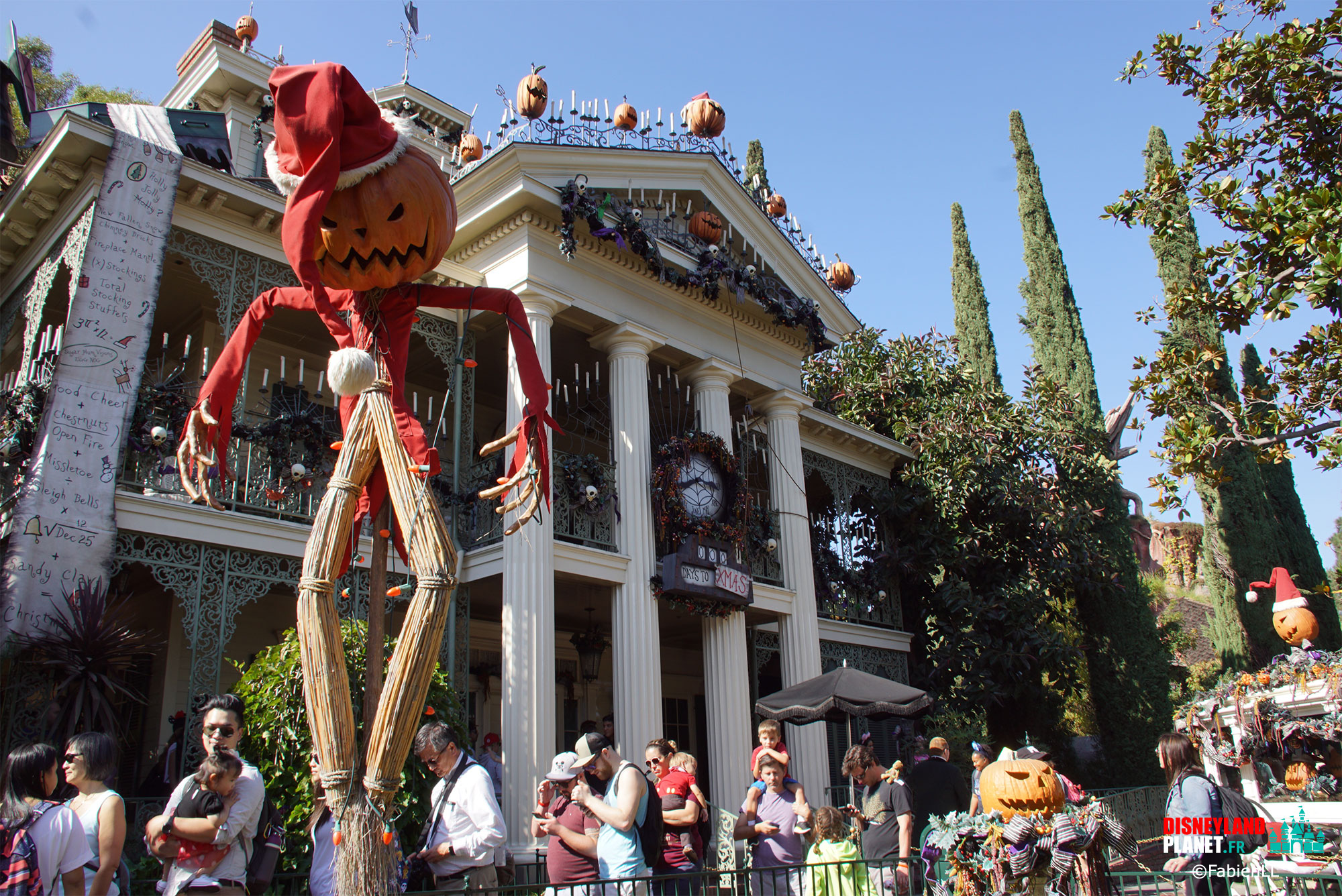 haunted mansion disneyland californie