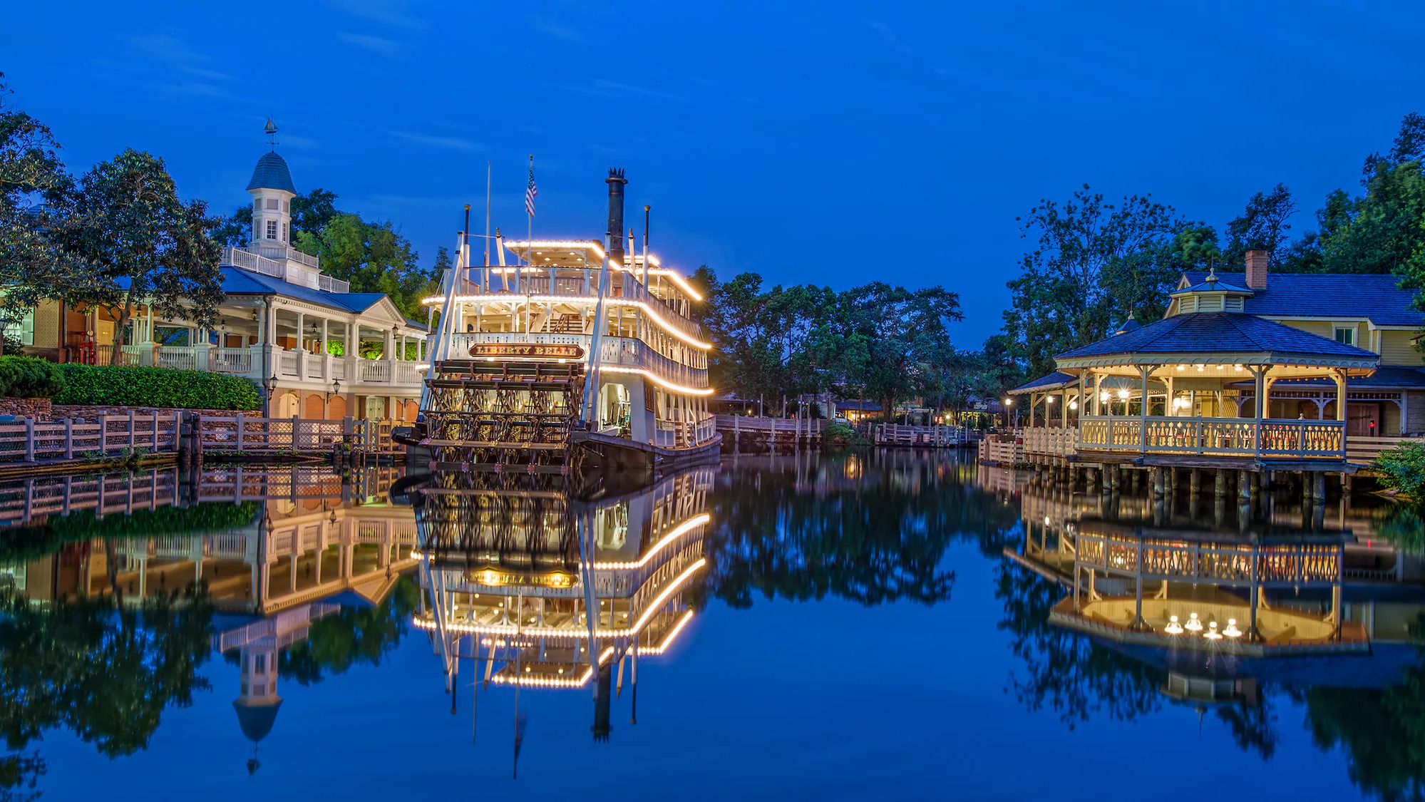 liberty square riverboat magic kingdom floride