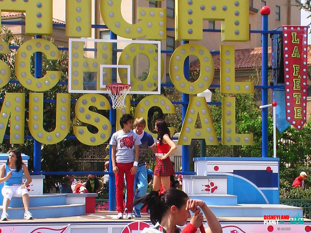 high school musical fete disneyland paris