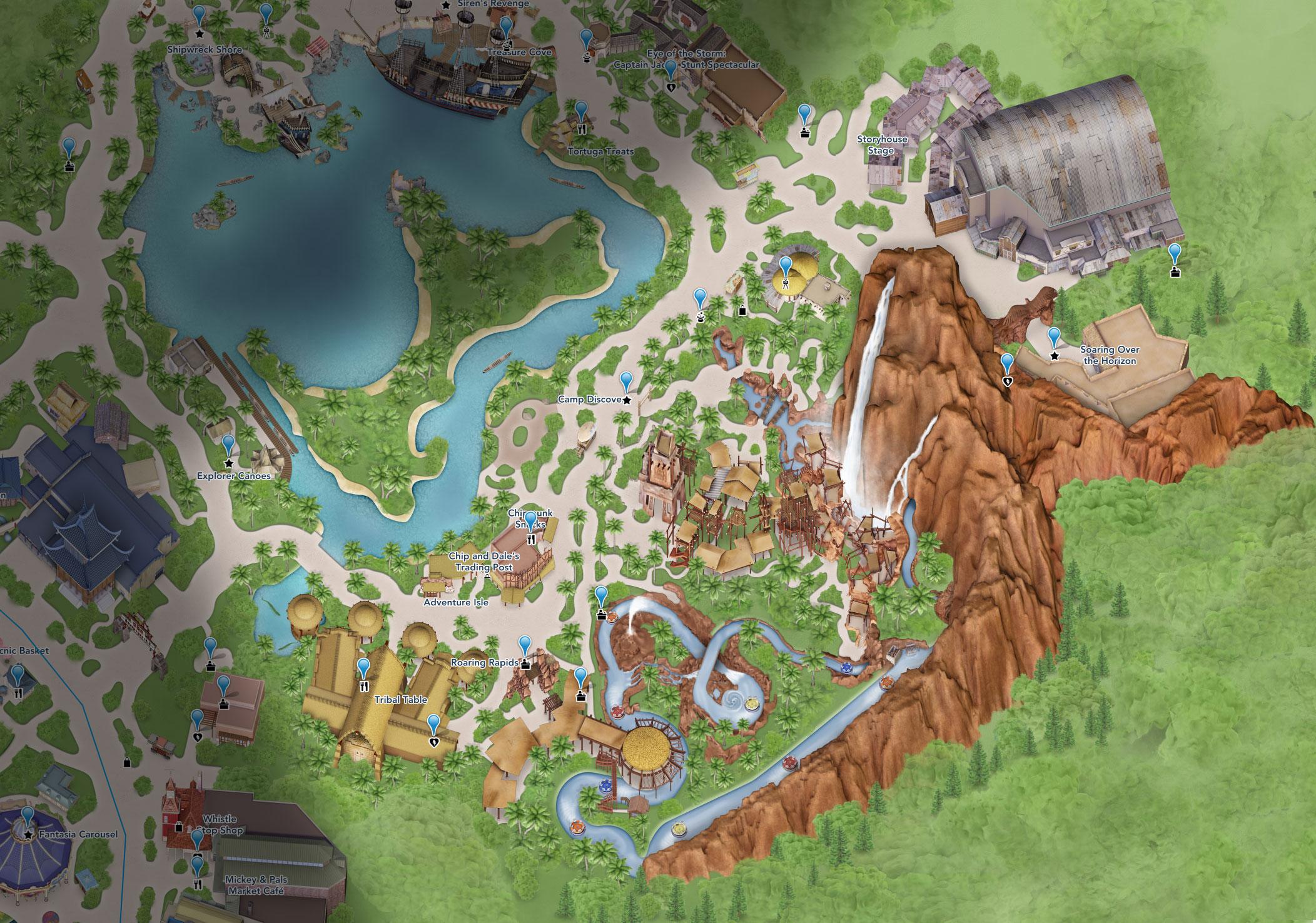 plan adventure isle shanghai disneyland