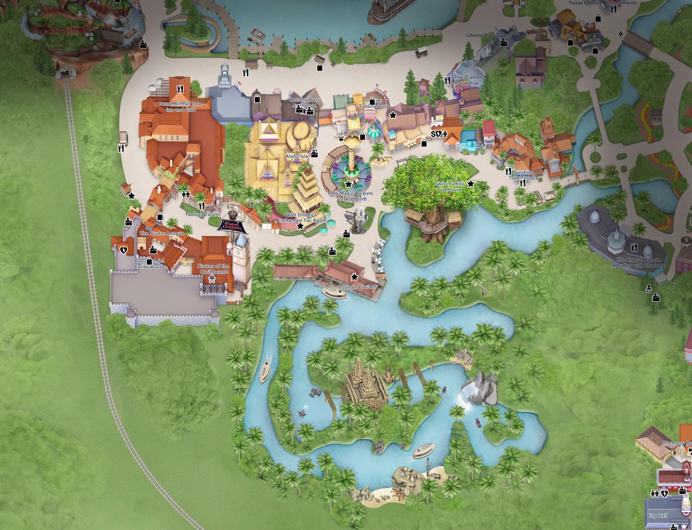 plan adventureland disney world florida