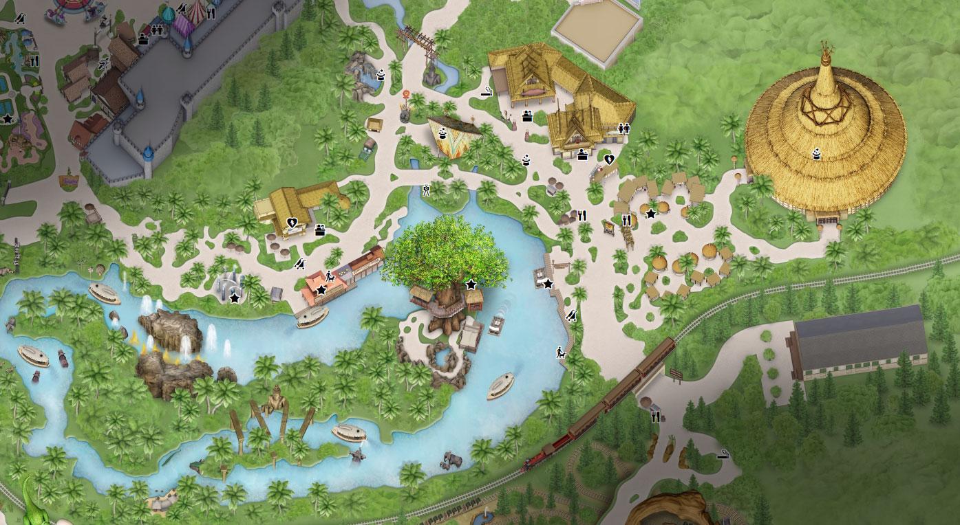 plan adventureland hong kong disneyland