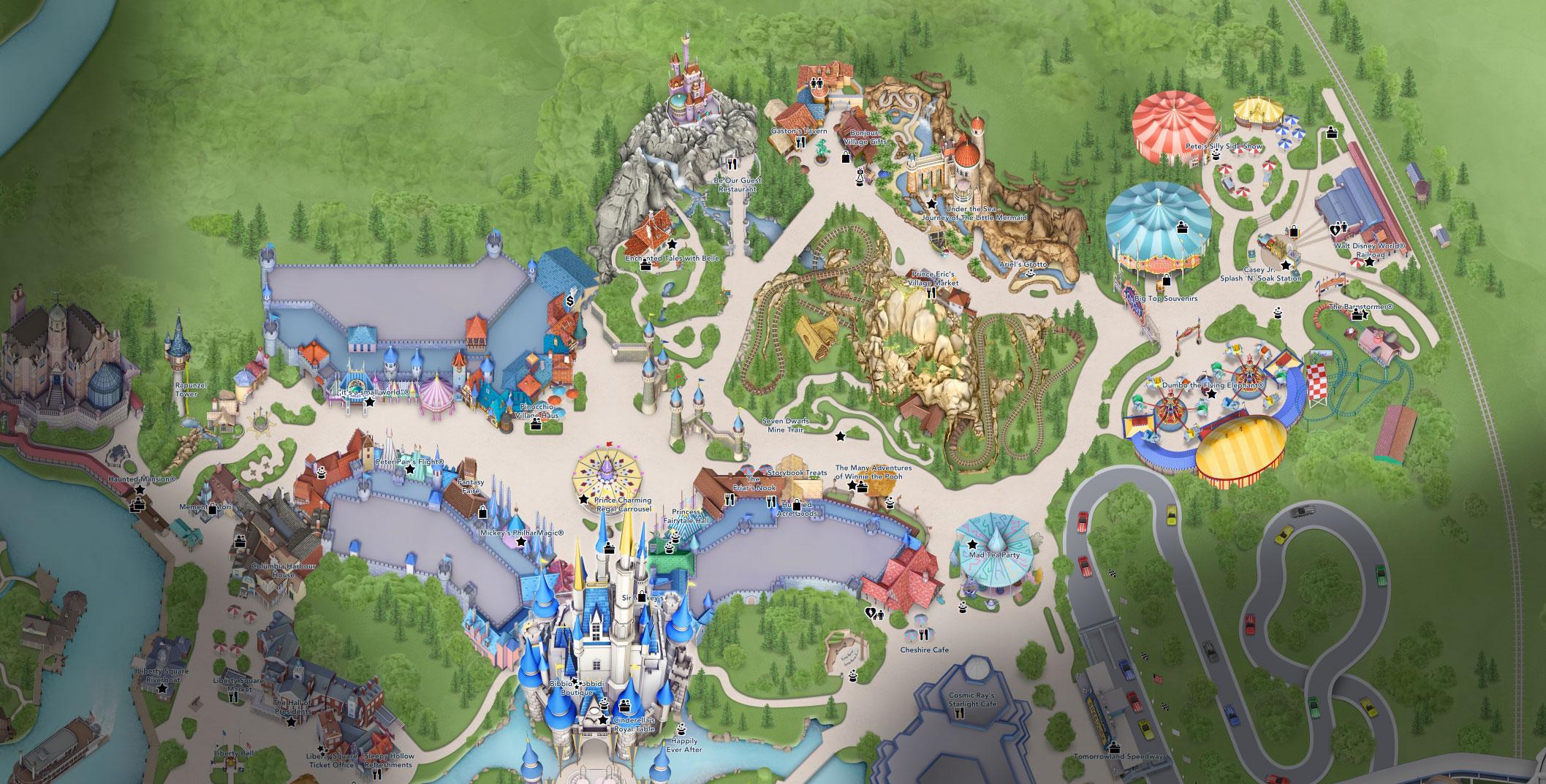 plan fantasyland disney world florida