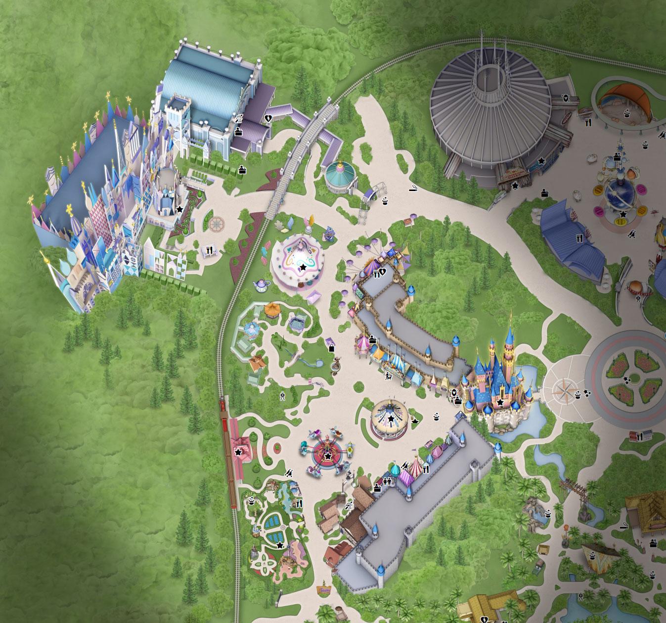 plan fantasyland hong kong disneyland
