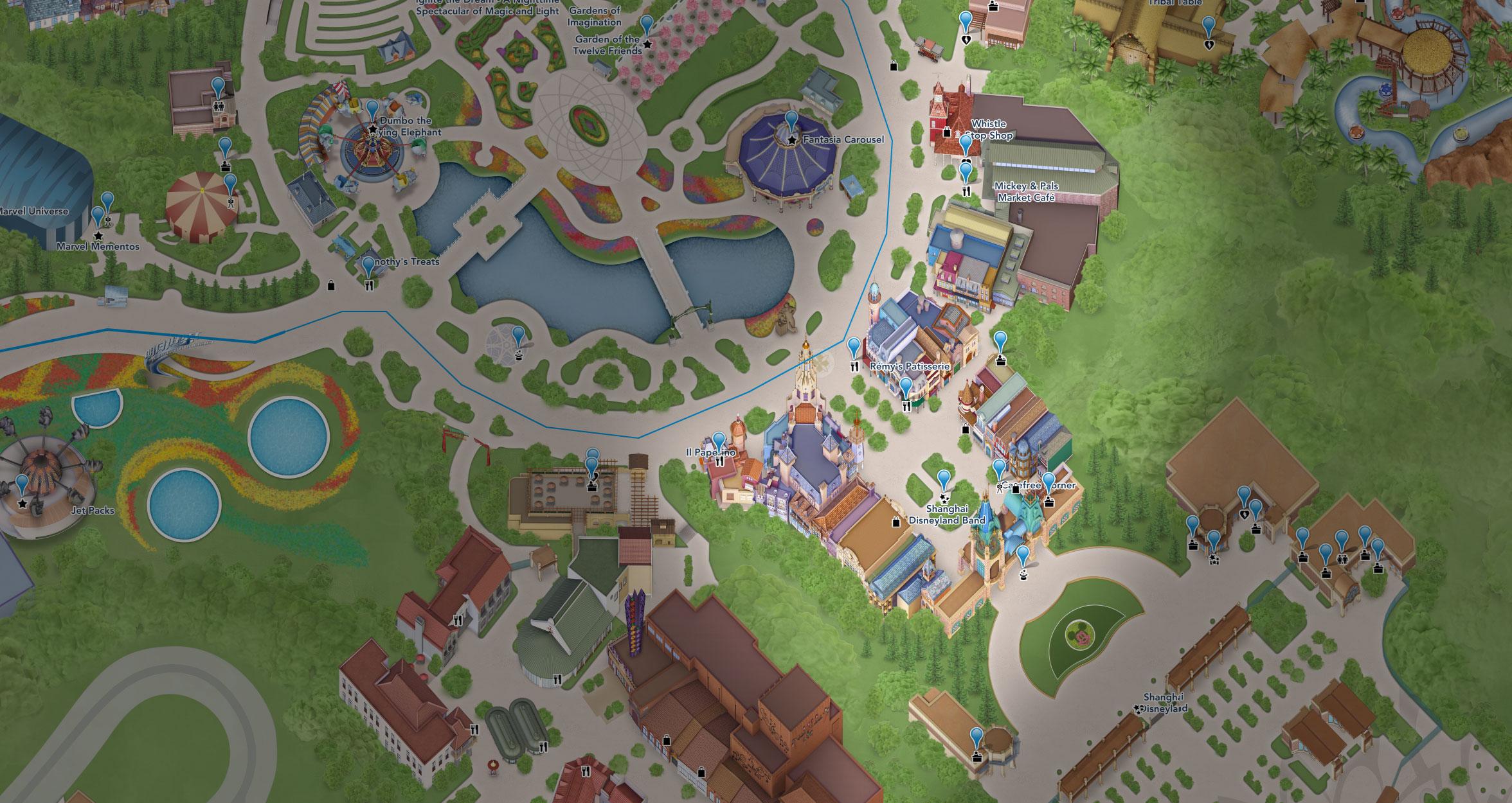plan mickey avenue shanghai disneyland