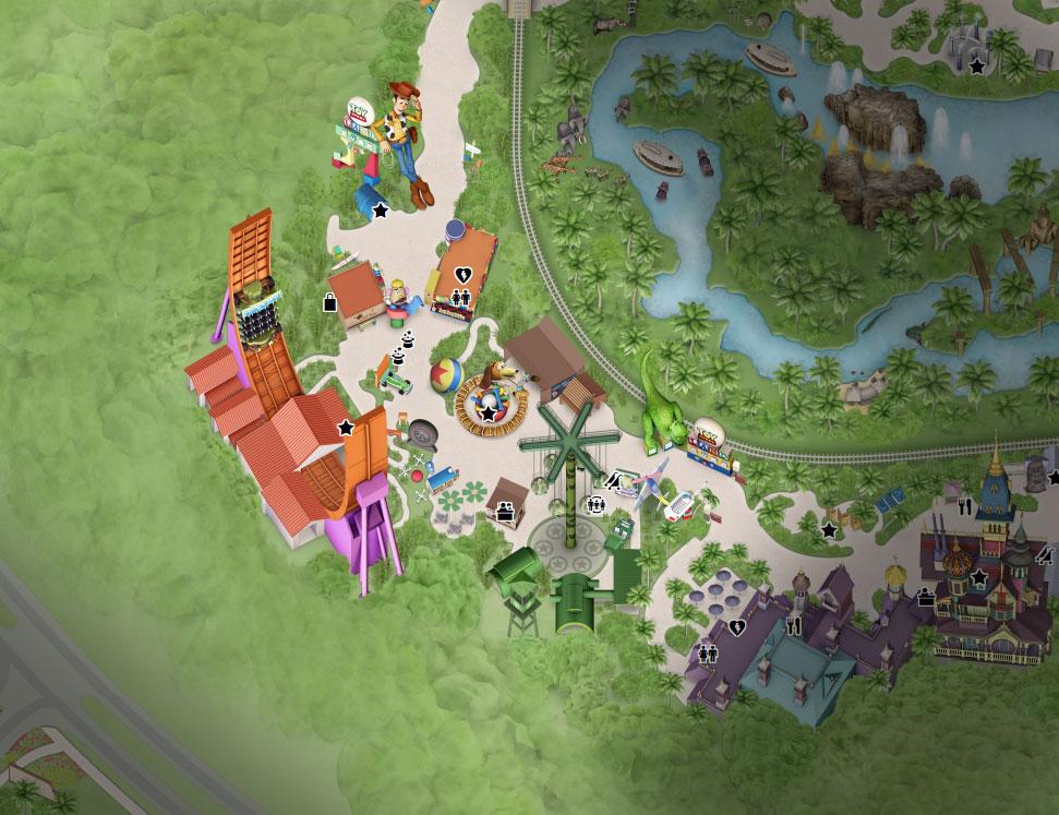 plan toy story land hong kong disneyland