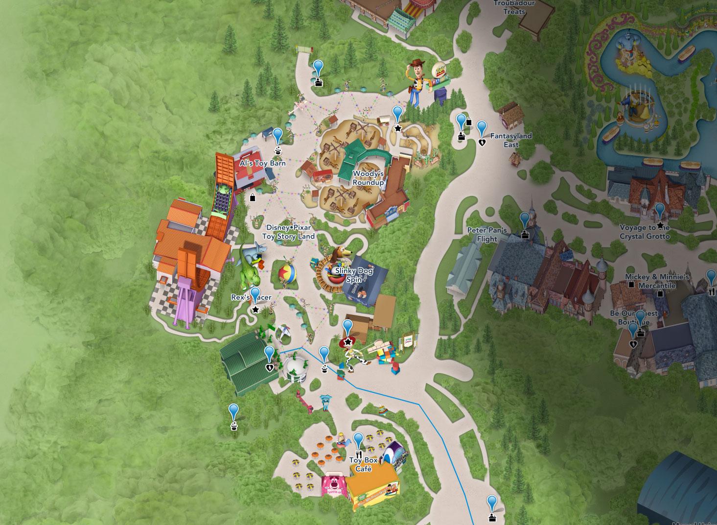 plan toy story land shanghai disneyland