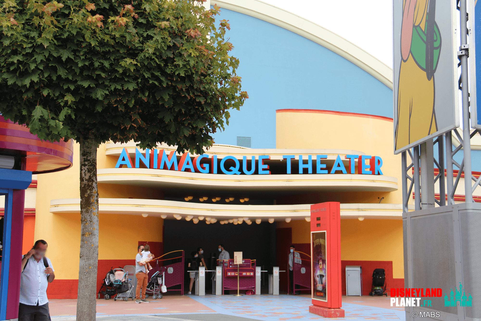 animagique theater disneyland paris