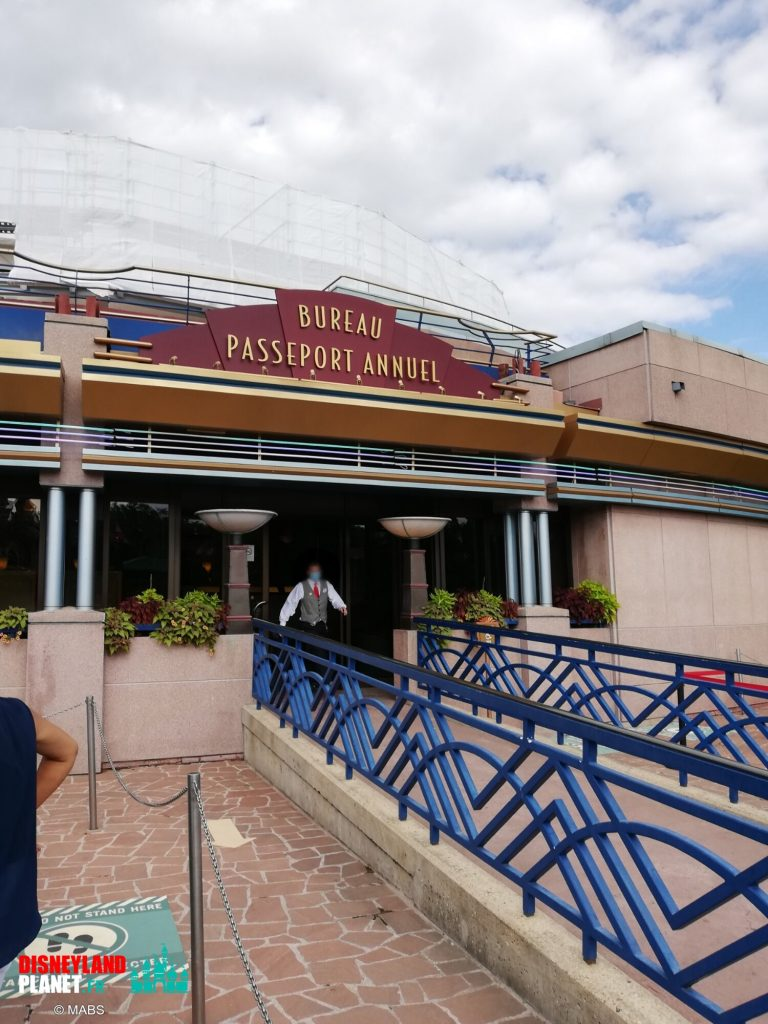 bureau passeports disneyland paris