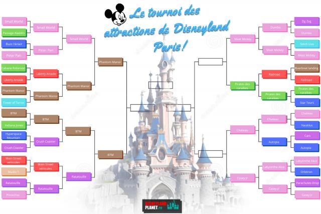 tournoi attractions disneyland planet