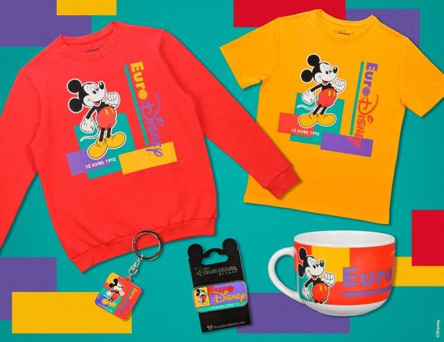 merchandise euro disney 1992