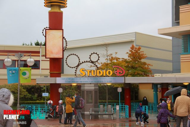 studio d disneyland paris