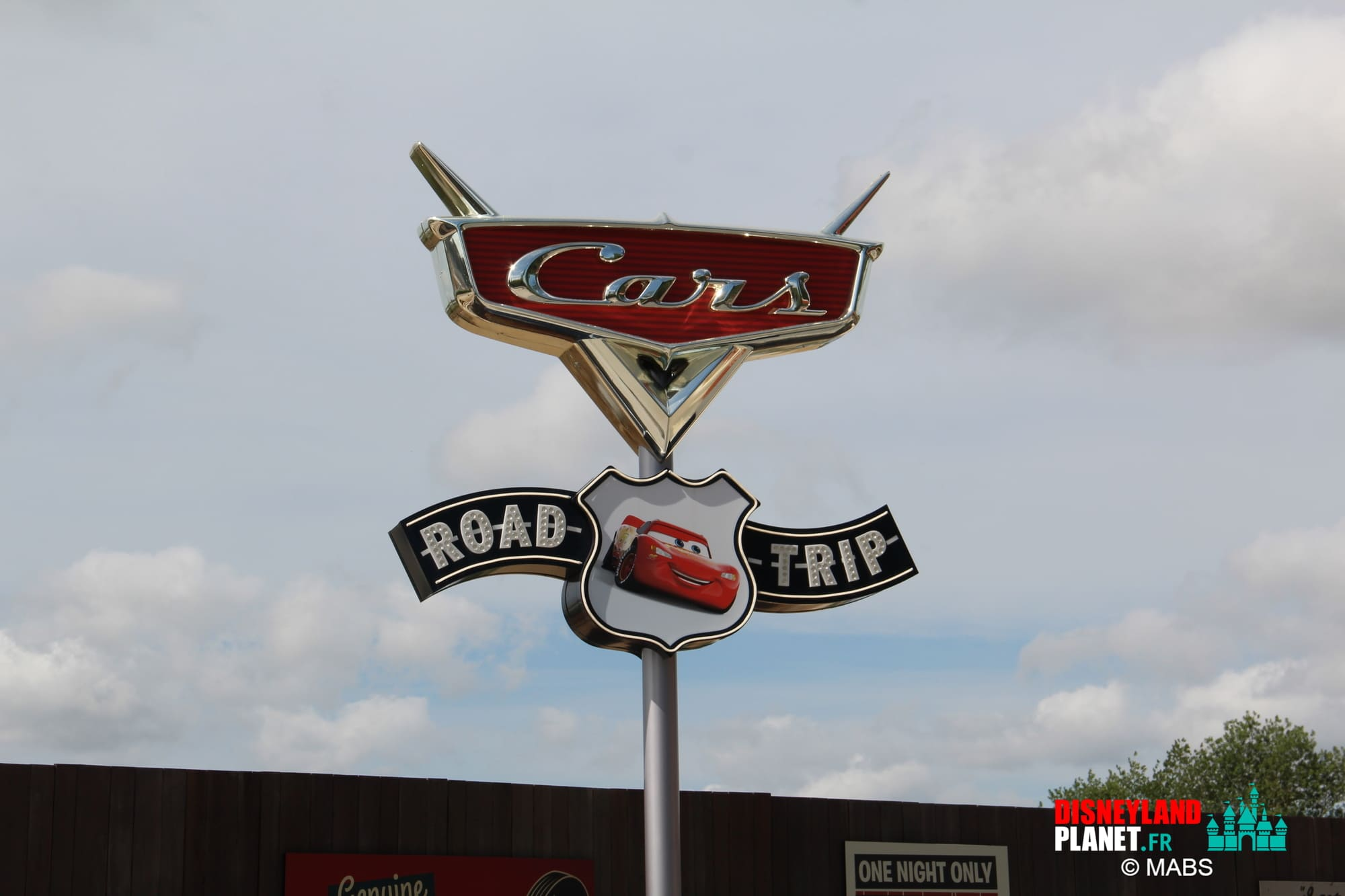 cars route 66 road trip disneyland paris
