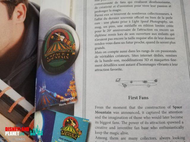 livre space mountain terre etoiles disneyland paris